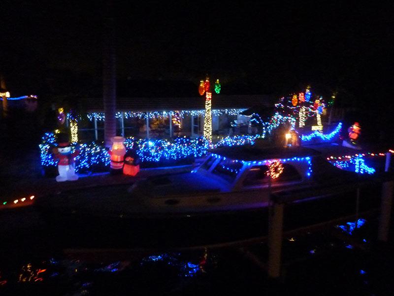 Christmas Light Boat Cruise And Dinner Punta Gorda December 6 2016 Swiss American Club