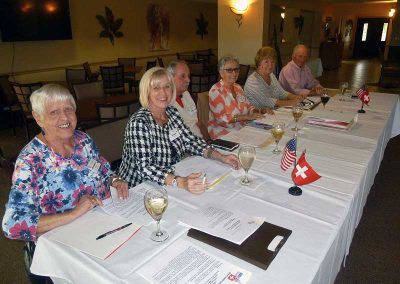 Swiss American Club, 2018 General Meeting
