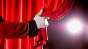 Opening of curtain