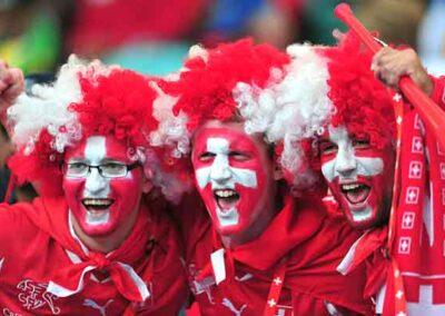 Swiss Soccer Fans