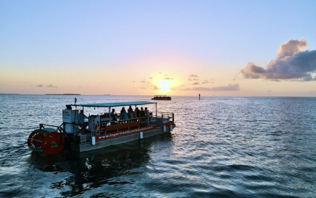 Sunset Cruise to welcome back our snowbirds